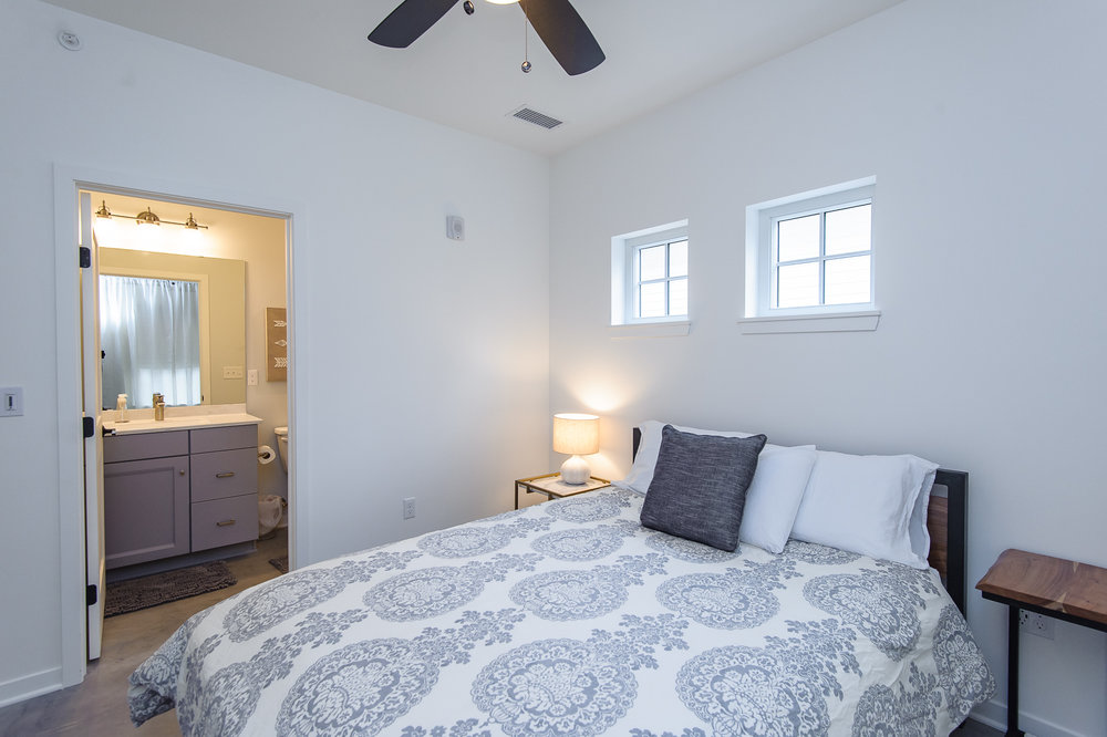 Each Unit Has 2 Bedrooms and 2 Bathrooms