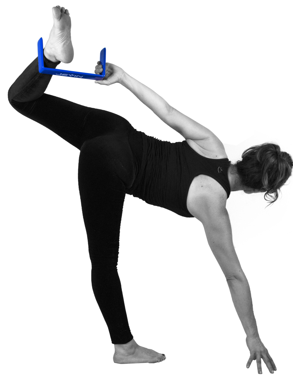Sugarcane in Half Moon Pose-Ardha Chandra Chapasana.png