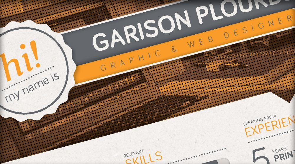 LAYOUT DESIGN  Garison Plourde