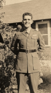 My father on leave October 1944.