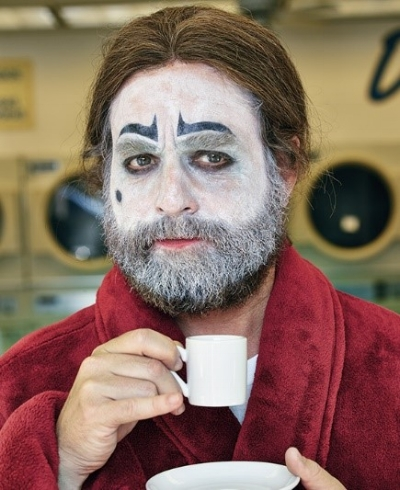 Zach Galifianakis as Baskets the Clown .