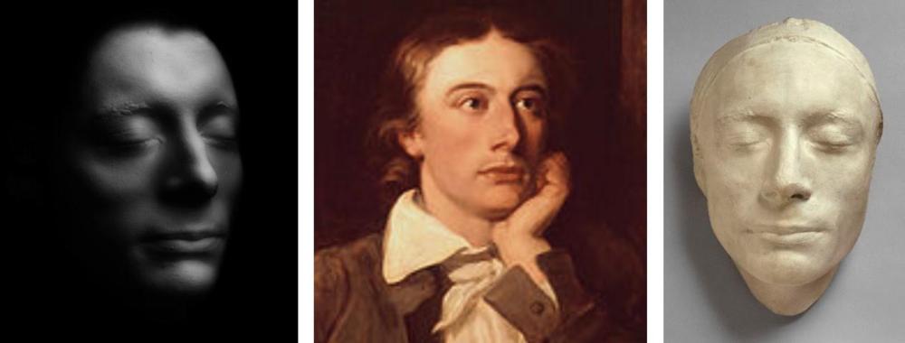 """John Keats """"selfies"""""""