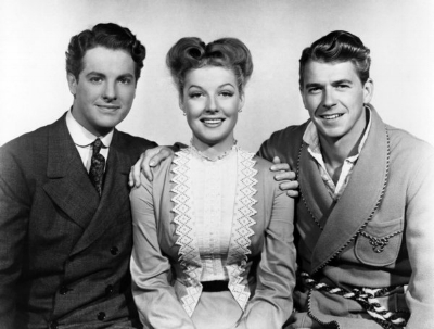 Original Cast: Robert Cummings, Anne Sheridan, Ronald Reagan.