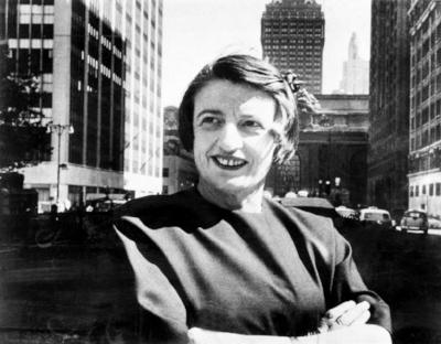 Ayn Rand (© 1962, AP)