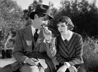 Peter Warne (Gable) and Ellen (Colbert)