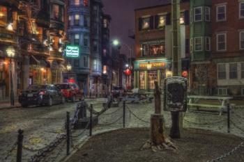 North Square - North End - Boston  © 2015, Joann Vitali