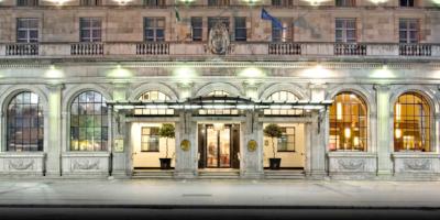 The Gresham Hotel.