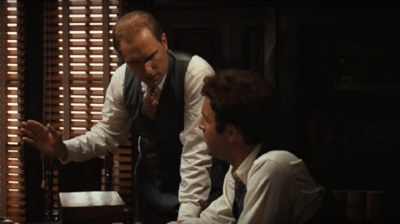 """Even the shooting of your father was business, not personal, Sonny!"" Tom Hagen to Sonny Corleone, in  The Godfather."