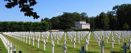 Epinal American Cemetery and Memorial, Dinozé, France.