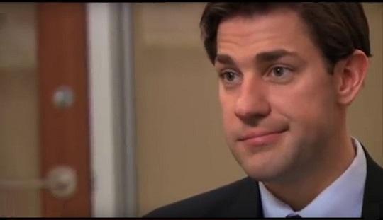 Jim realizing his future.