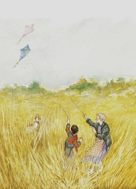 """""""…her hand circles in a gesture that gathers clouds and kites and grass and Queenie pawing earth over her bone."""""""