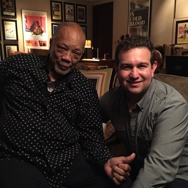 #fbf to our interview with the one and only #quincyjones #greatthings #creativechaos #ccvmg