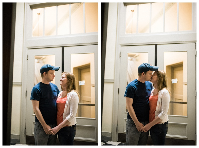 dayton wedding photography _ chelsea hall photography_Downtown Dayton Engagement