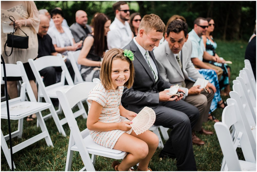 wedding guests at Rolling Meadows Ranch