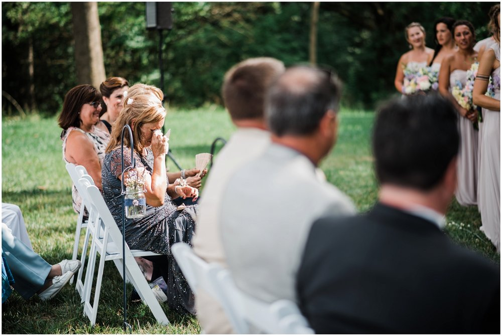 Rolling Meadows Ranch wedding ceremony