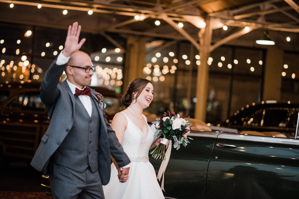 Americas Packard Museum wedding