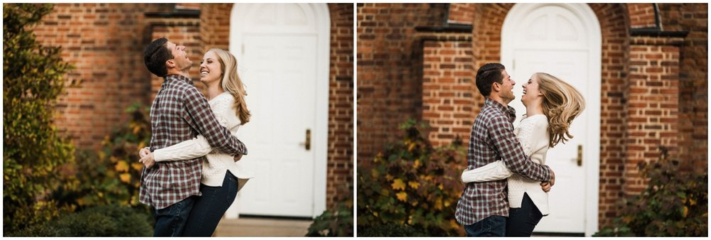 Miami University Engagement Session | Dayton Wedding Photographer