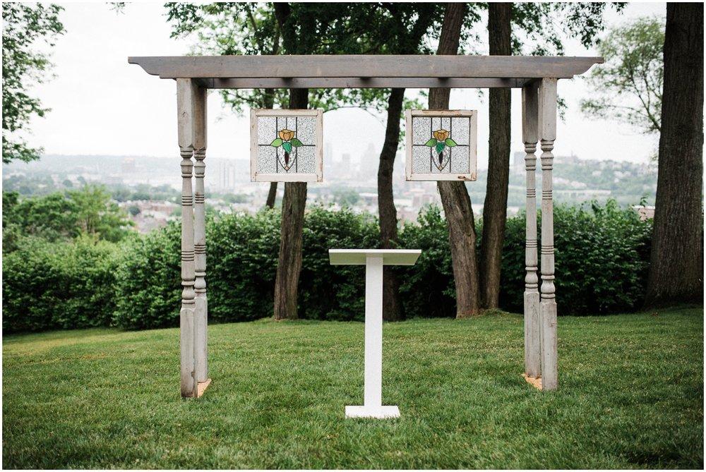 Cincinnati Skyline Wedding