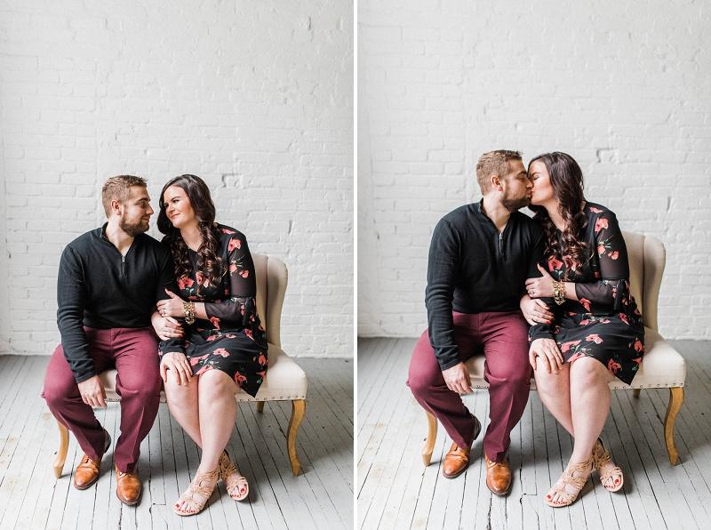 Urban Engagement Session | Dayton Wedding Photographer