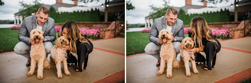 NCR Country Club Anniversary Portraits | Dayton Portrait Photographer
