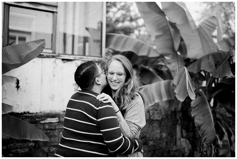 Couple's Portraits in Oregon Historic District | Dayton Portrait Photographer
