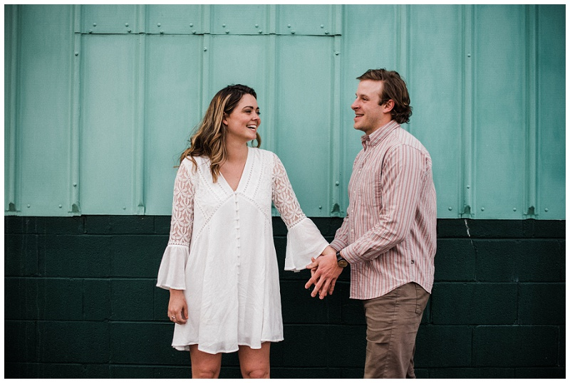 Yellow Springs, Ohio Engagement Portraits | Chelsea Hall Photography