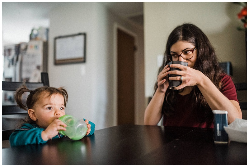Dayton, Ohio In-Home Family Portraits | Chelsea Hall Photography