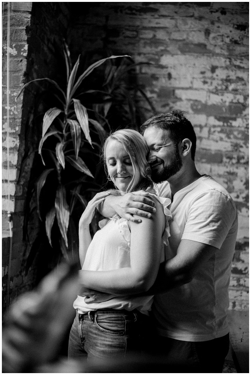 Columbus, Ohio In-Home Engagement Portraits | Chelsea Hall Photography
