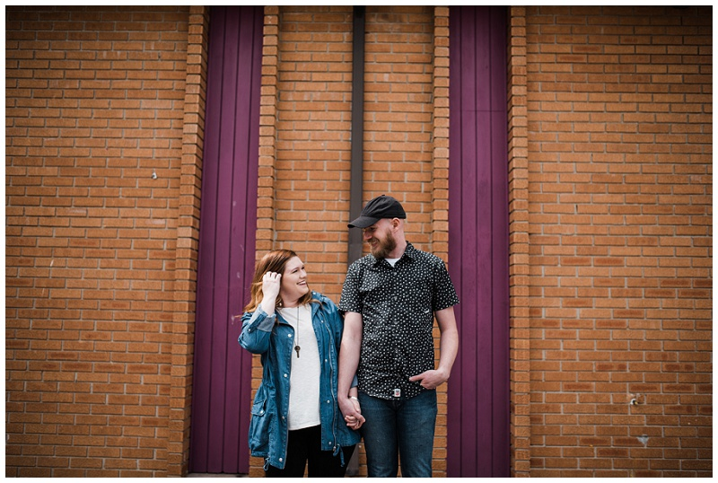 Yellow Springs, Ohio Couple's Portraits | Chelsea Hall Photography