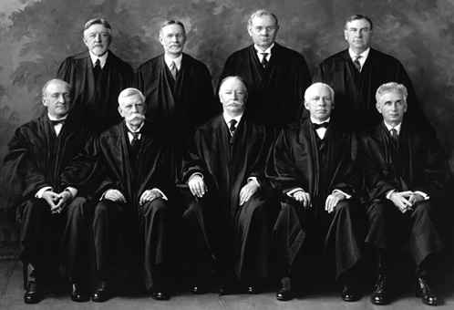 1925 US Supreme Court Justices