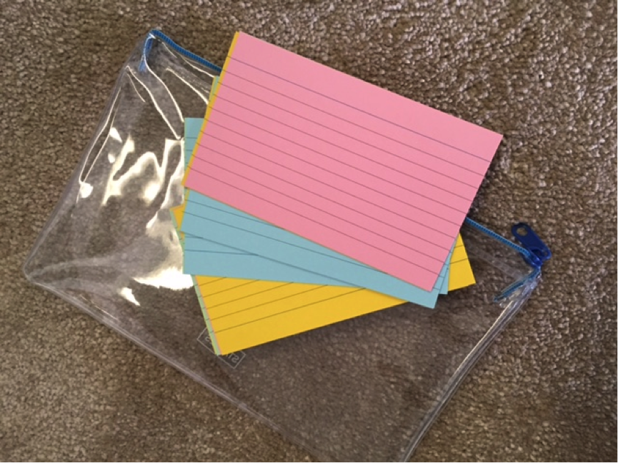 The Index Card technique