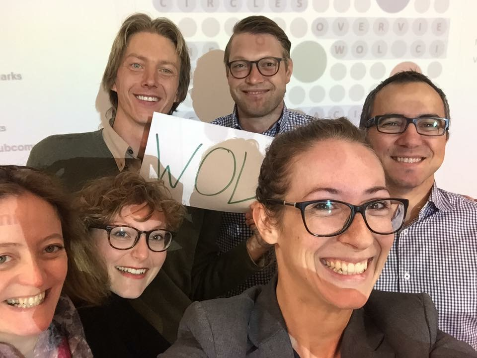 A circle selfie! I included this photo in the TEDx talk.
