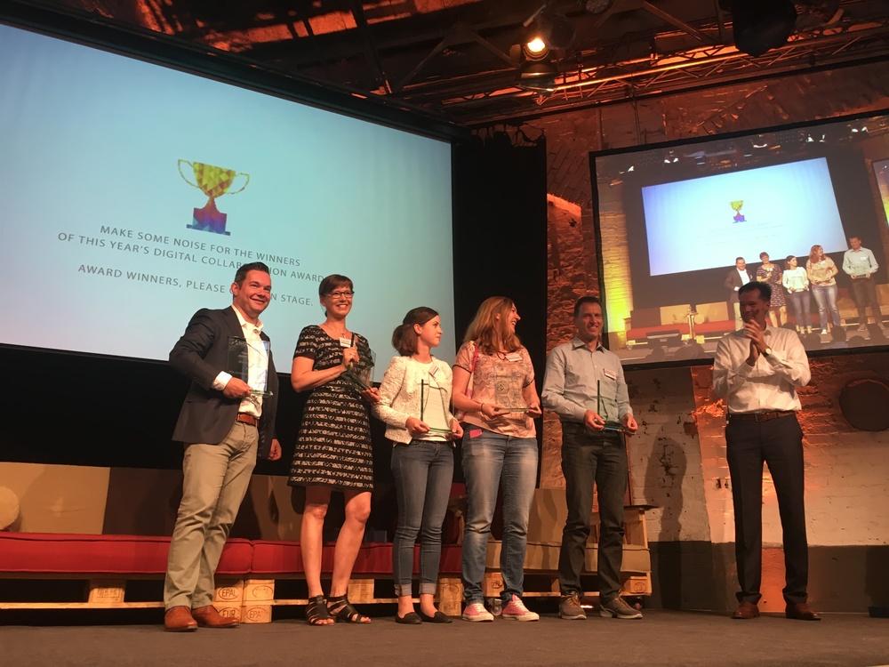 From Left to right: Jeroen Brands, Cornelia Heinke, Kathrin Schmidt, Monika Struzek, Thorsten Sylvester