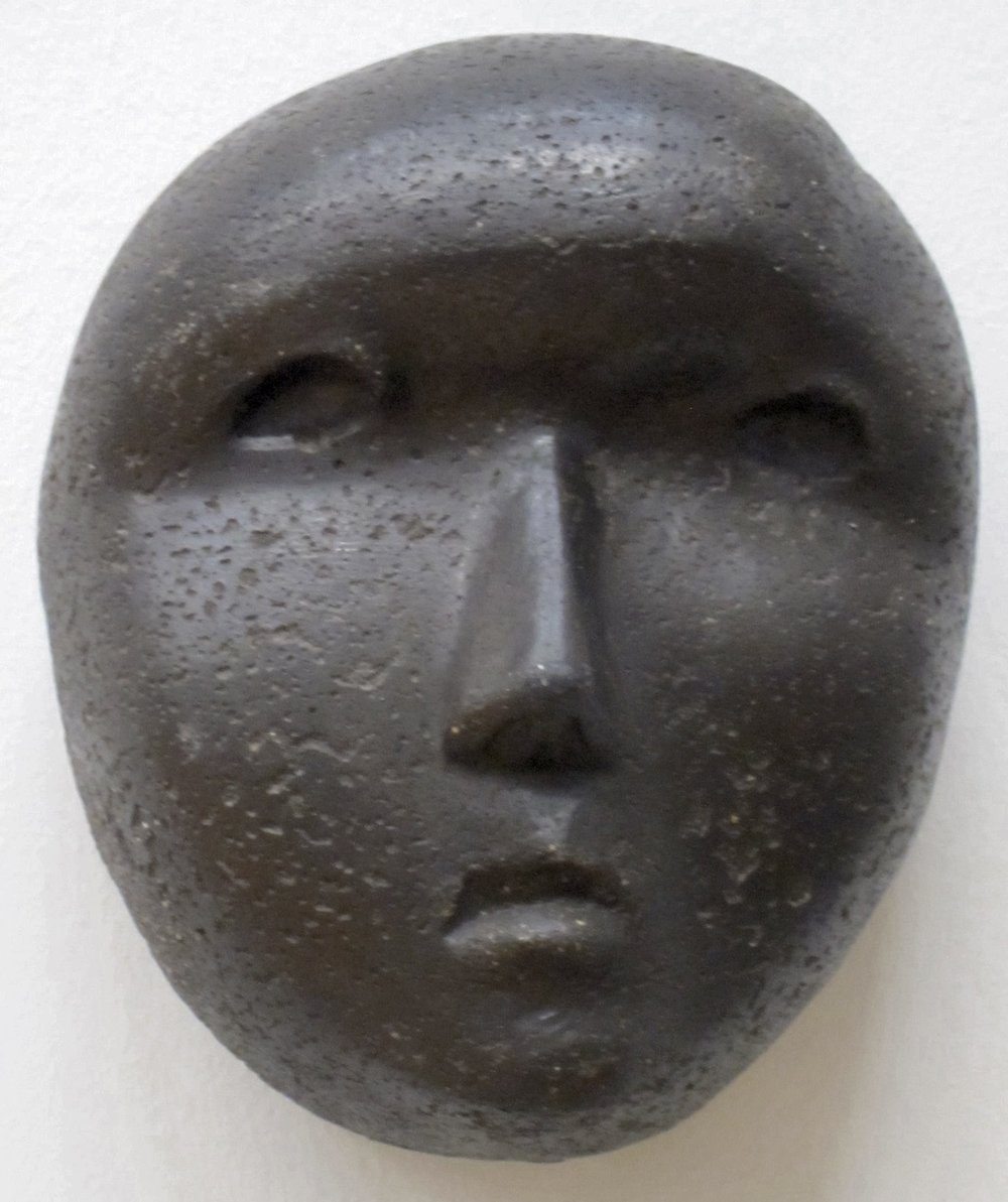 """Mask"" by Henry Moore"