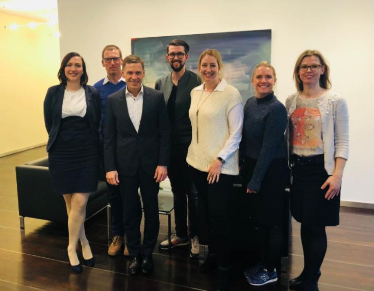 Christoph Kübel, Geschäftsführer und Arbeitsdirektor der Robert Bosch GmbH & WOL Co-creation team