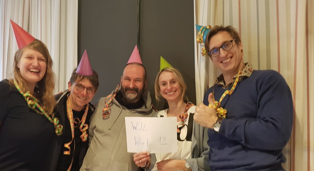 Week 12 - with Party Hats.JPG
