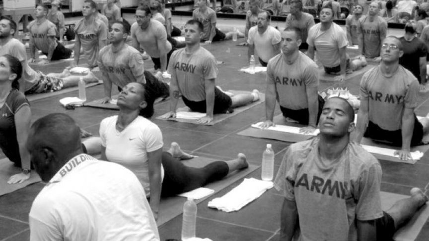 Yoga for Veterans - Kula for Karma