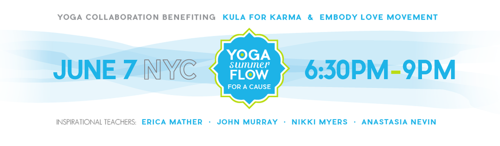 Yoga Flow for a Cause - Kula for Karma