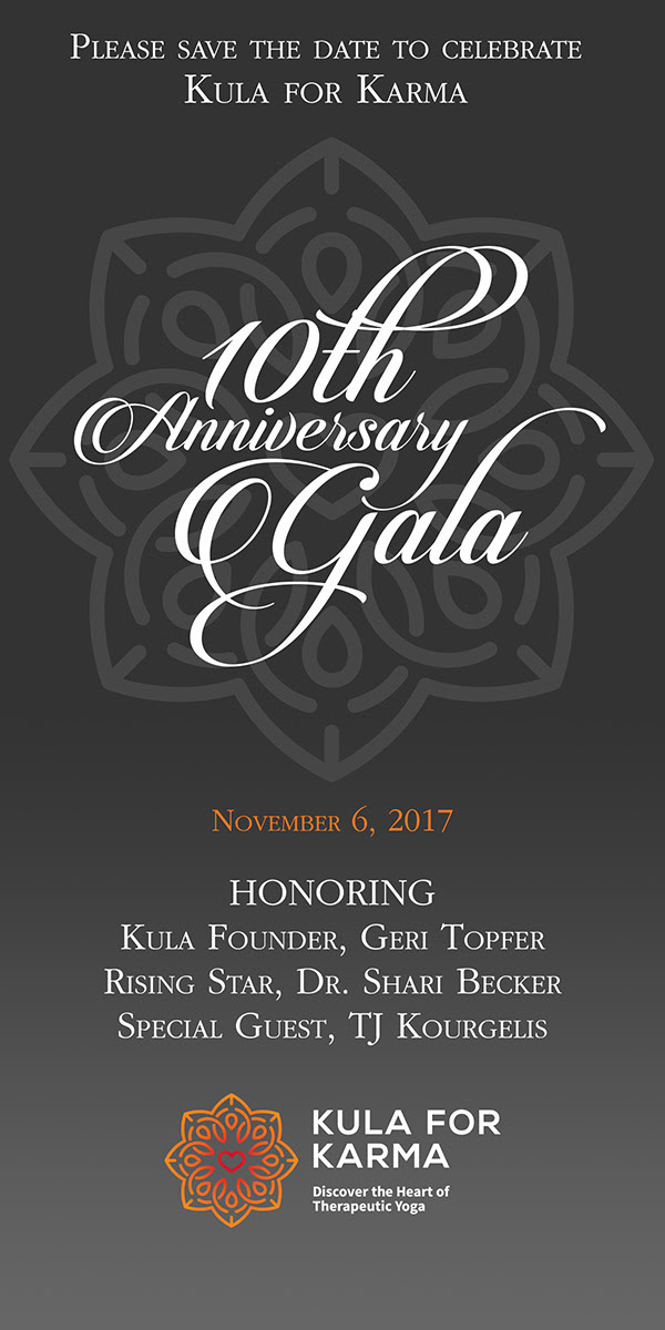 Kula for Karma 10th Anniversary Gala