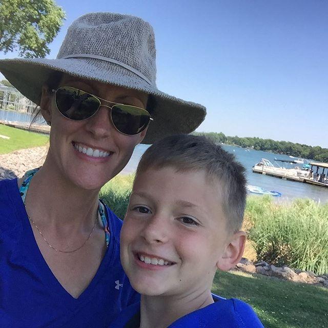 On the water with my Minis! ❤️🏄 #MothersDay  #lknliving #LakeNorman #CLT #Mooresville #momtrepeneur