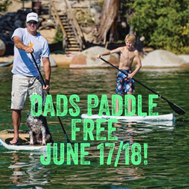 DAD PADDLES FOR FREE JUNE 17 or 18th 2017! Bring Dad out on the Water for a Family Adventure! Explore LKN by Paddleboard with Dad and the whole family - 2 HOUR RENTAL for DAD FOR FREE with the purchase of any other Family Member.  BOOK NOW:  https://squareup.com/store/LKNBoard/item/father-s-day-special