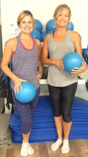 My friend, Lynn, and I have a great fitness friendship. We hold each other accountable and it makes working out productive and fun. When we are exhausted at work she will give me that little nudge that I need and I will push through! Having a close friend to barre with has made a huge impact! Barre class is a total body workout, but it also helps us to relax, focus, and clear our mind. When we leave athenafit we feel proud of ourselves and completely invigorated. It's an amazing way to begin or end your day.  Between the two of us, we have been to over 500 classes and wouldn't have it any other way. athenafit is a special environment that's a perfect fit for everyone!   - Allison