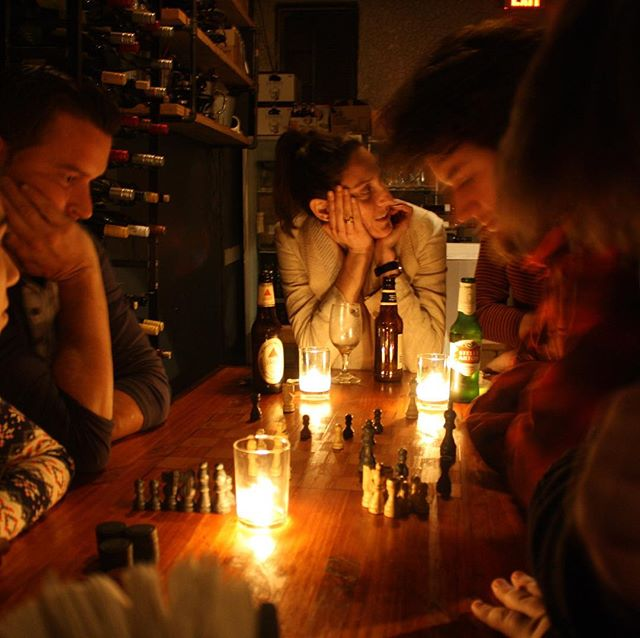 This time of year is all about bringing your favorite people around the same table #grateful :: love this pic of you @kimberlyaikman  #family #thanksgiving #friendsgiving #proscht #chess #happyhour #supportsmallbusiness #familyowned #eatlocal #socialdining #visitchampaigncounty #champaignurbana #illini