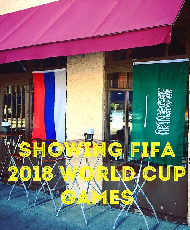 ⚽️showing games during open business hours in back room⚽️ 🇨🇭🇳🇬🇧🇷🇦🇷🇲🇽🇵🇹🇯🇵🇬🇭🇰🇷🏴󠁧󠁢󠁥󠁮󠁧󠁿🇩🇪🇨🇴🇸🇪🇺🇾🇷🇺🇦🇺 #fifaworldcup #jogabonito #worldcupfever #soccer #thebeautifulgame #fifa18