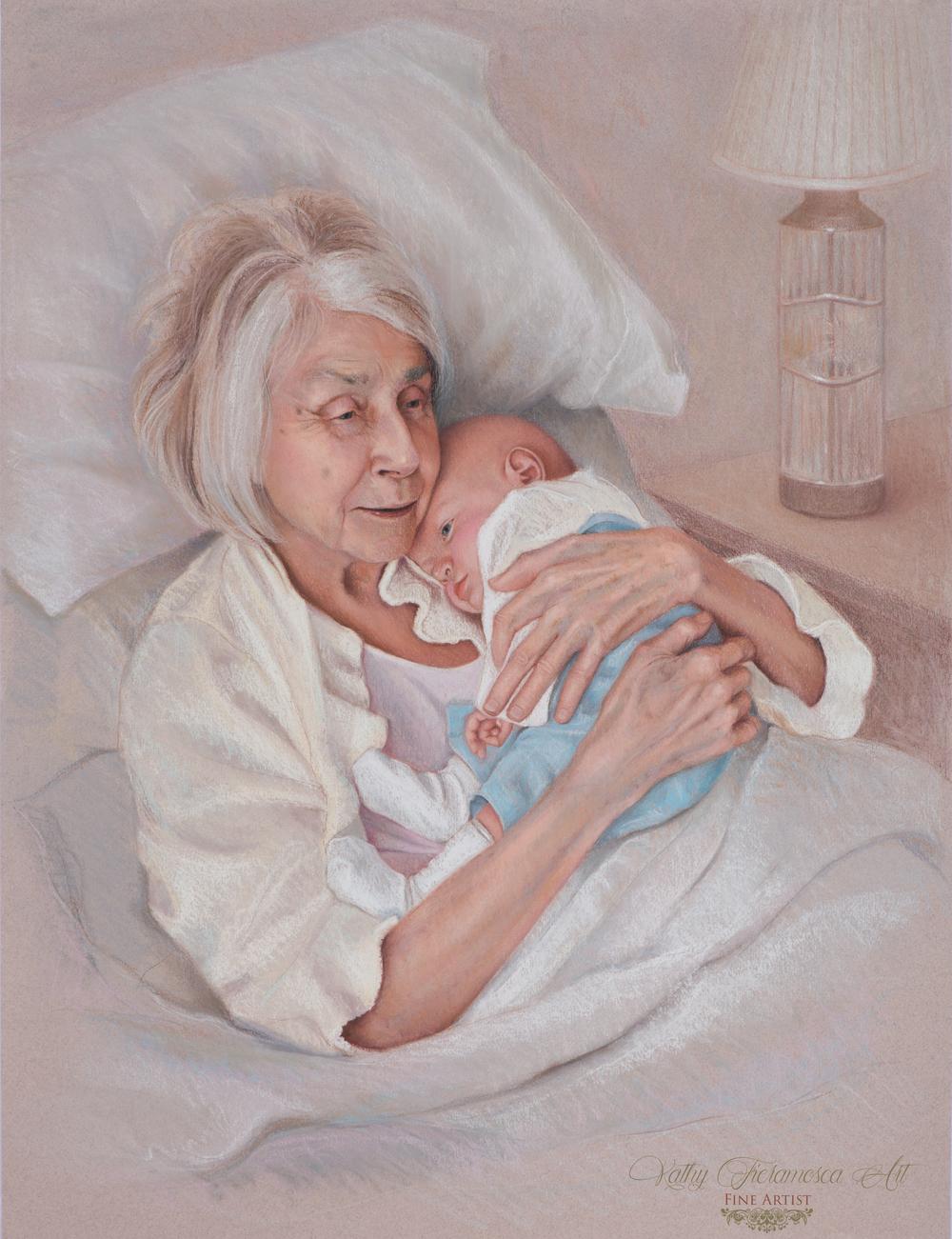 Marjorie & Baby Jonah