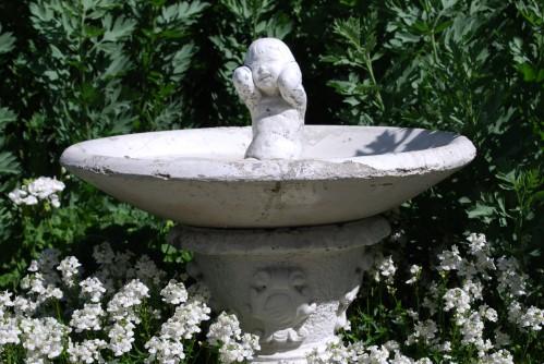 Vintage Garden Baby Fountain