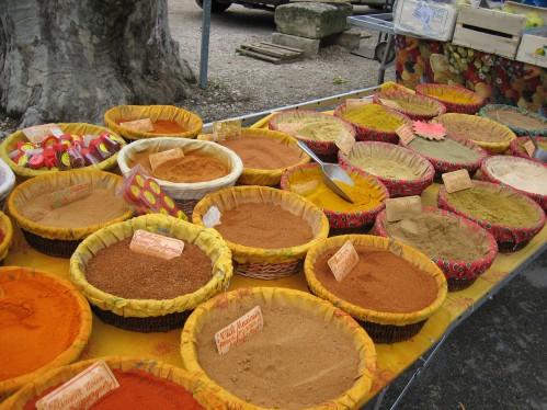 Spice Vendor, Lourmarin Friday Market, Provence