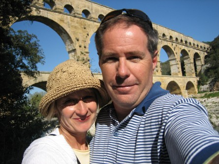 Self-Photo at Roman Pont du Gard