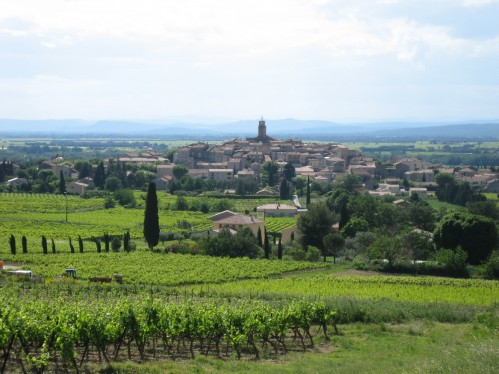Lower Rhone Valley And Town of Sablet