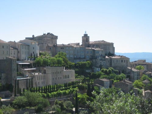 Approaching the Medieval Village of Gordes